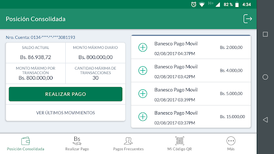 Descargar Banesco Pago Móvil para PC ✔️ (Windows 10/8/7 o Mac) 5