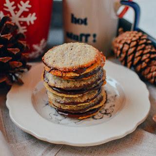 Chocolate Oatmeal Sandwich Cookies (Brussels Cookies Recipe)
