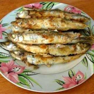 Ukrainian Easy Fried Smelt or Capelin
