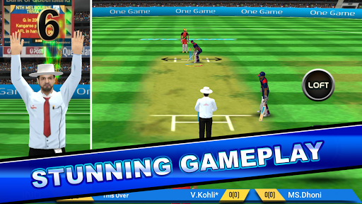 Onegame Cricket 2019  captures d'u00e9cran 1