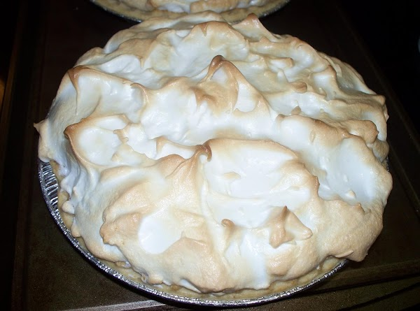 Note : It's best if you chill this pie before cutting into it. This...