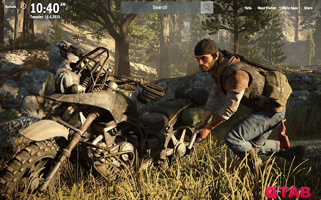 Days Gone New Tab Days Gone Wallpapers