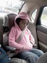 Photo: Sleeping in the car
