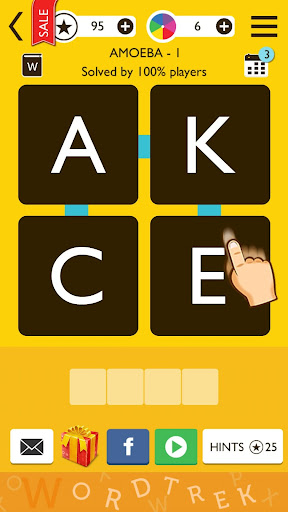 Word Trek - Word Brain streak - hand made puzzles 1.3.74 screenshots 1