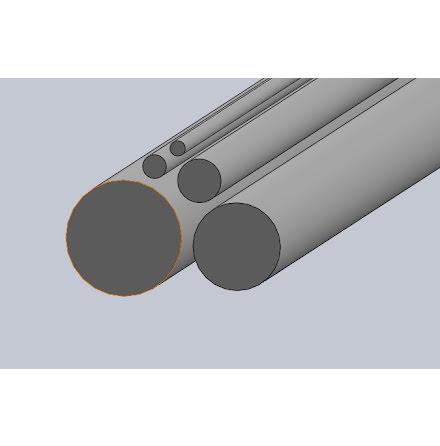 Aluminium Rundstång