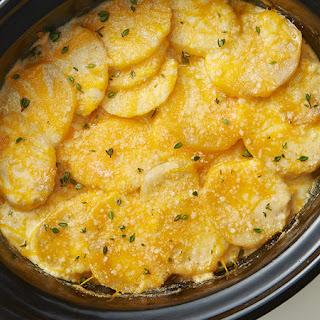 Slow-Cooker Cheesy Scalloped Potatoes.