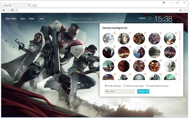 Destiny 2 Backgrounds New Tab - freeaddon.com