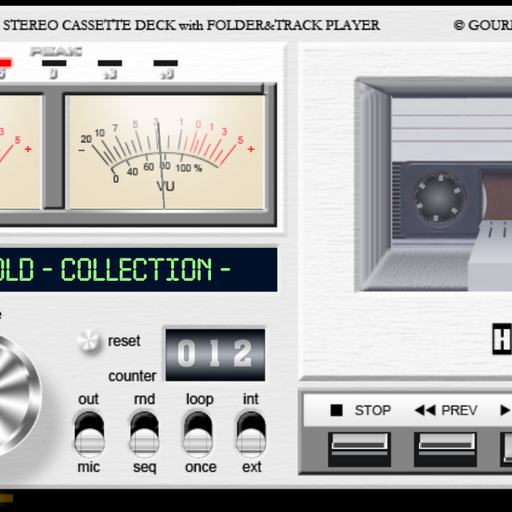 GVC CD-17P folder & track player
