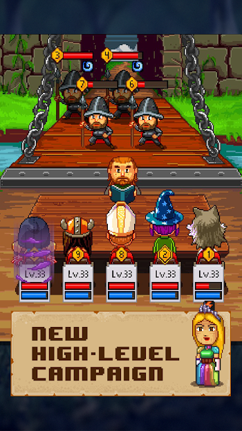 Knights of Pen & Paper 2- screenshot