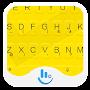 Yellow & Black Keyboard Theme