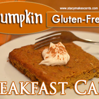 Pumpkin Breakfast Cake (GF).