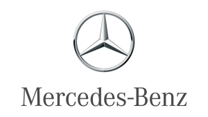 Android Auto Compatible car featuring Mercedez Benz Logo
