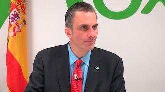 Candidato de Vox a la Alcaldía de Madrid, Javier Ortega Smith.