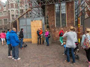 Photo: Tja, toeristen bij de Bremer stadsmuzikanten