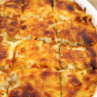 Cheesy Spaghetti Squash Bake Recipe