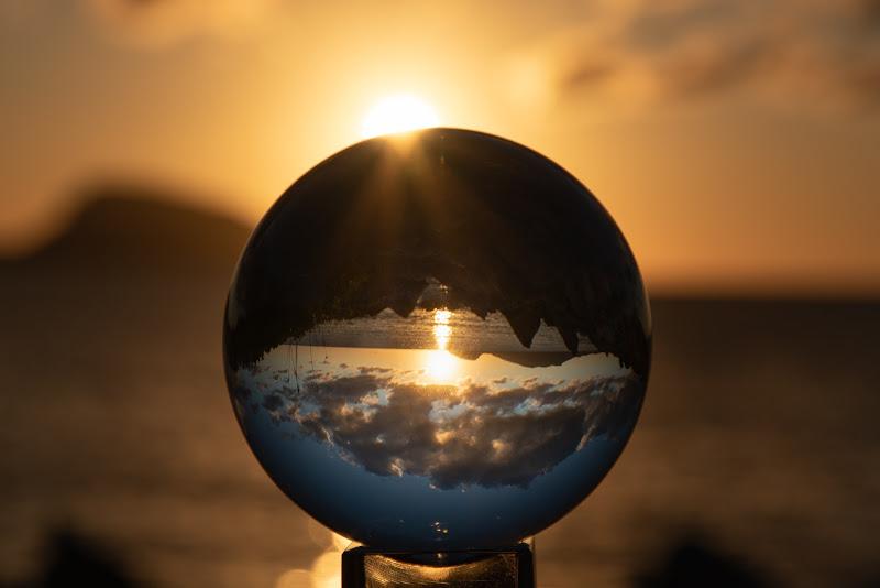 Alba nella sfera di ph. Manuela Condelli