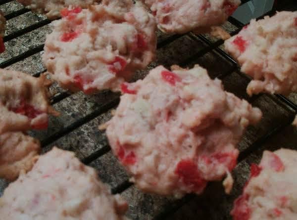Coconut Cherry Drops Recipe