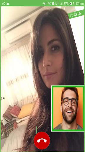 Fake Video Call Bollywood Celebrity Fake Time Screenshot