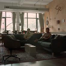 Photo: title: James Hull & Donna Veverka, Boston, Massachusetts date: 2010 relationship: friends, art, met through Morgan Cohen years known: 10-15