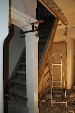 Photo: ehemals Wandschränke, Treppe zum Turm