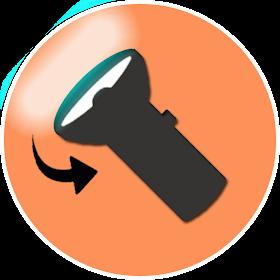 FlipLight  ★ Увеличить фонарик