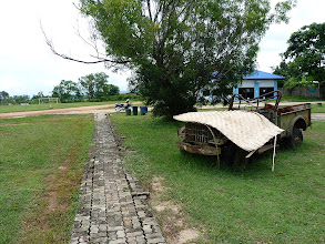 Photo: road Mae Hong Son to Mae Sariang - Khun Yuam closed WW2 museum