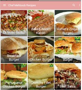 Chef Mehboob Recipes screenshot 0