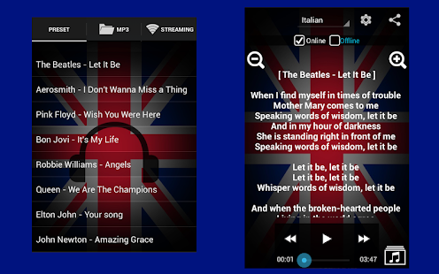Learn English with Music screenshot