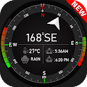 Super Digital Compass for Android 2019 icon