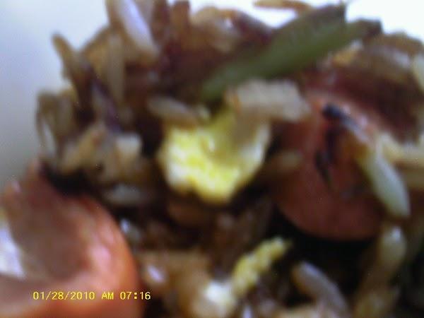 Spicy Shrimp Fried Rice Recipe