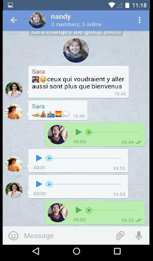 Messenger 0.6.0 screenshots 2