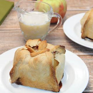 Grandma's Apple Dumplings with Vanilla Sauce