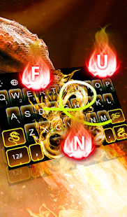 App Gold Dragon Keyboard Theme APK for Windows Phone