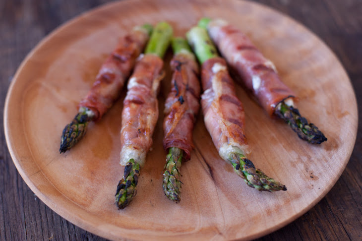 Goat Cheese Stuffed Prosciutto Wrapped Asparagus Recipe | Yummly