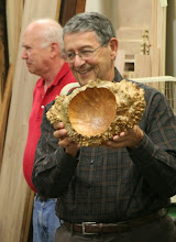 Photo: Jerry Kaplan made very good use of this big-leaf maple burl.