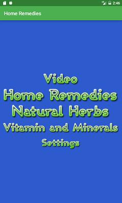 Home Remedies - screenshot
