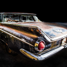 relic by Dougetta Nuneviller - Transportation Automobiles ( automobile     automobiles     vintage     car     antique     relic     rust     decay     abandonded     junk     route 66     broken     grime     beautiful     colorful     old )