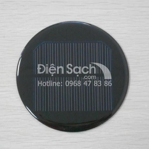 Tấm Pin hình tròn đường kính 100mm