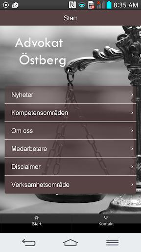 Advokat Östberg