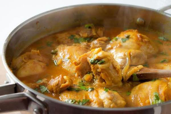 Spicy  Coconut Chicken Curry Recipe