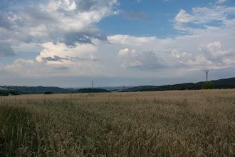Photo: Gdzieś od strony Austrii chmurzy się i słychać coraz bardziej zbliżające się odgłosy burzy.