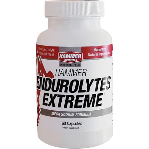 Hammer Nutrition Hammer Endutolytes Extreme: Bottle of 60