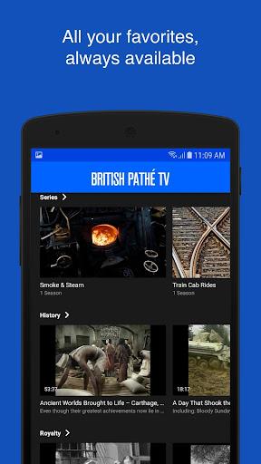 British Pathé TV screenshot 3