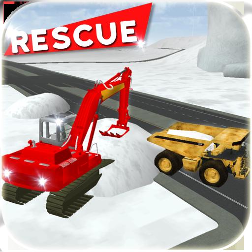 大雪レスキューショベル3D 模擬 App LOGO-APP試玩