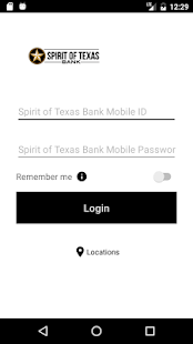 Spirit of Texas Bank Mobile - náhled
