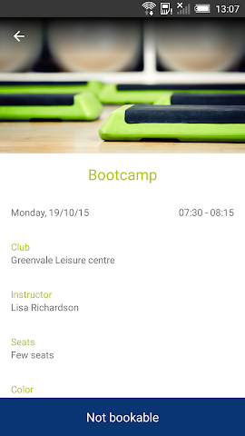 android Active Classes Screenshot 3