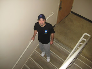 Photo: Stairwell workout