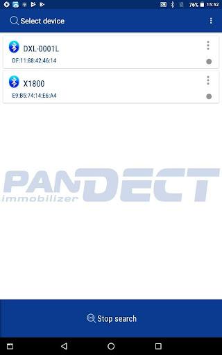 pandect bt screenshot 1