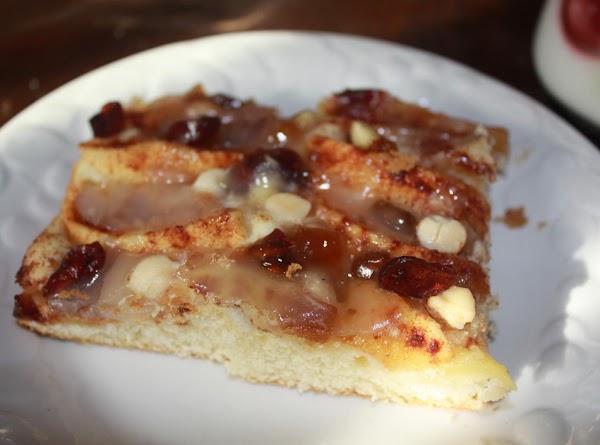 Glazed Apple Cake Recipe