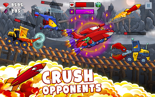 Car Eats Car 2 - Racing Game Screenshot